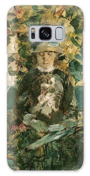 Portrait Of Adele Tapie De Celeyran Galaxy Case by Henri de Toulouse-Lautrec