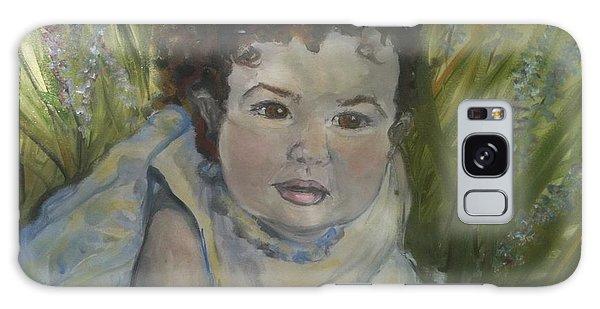 Portrait Of Alexandra Rose Galaxy Case