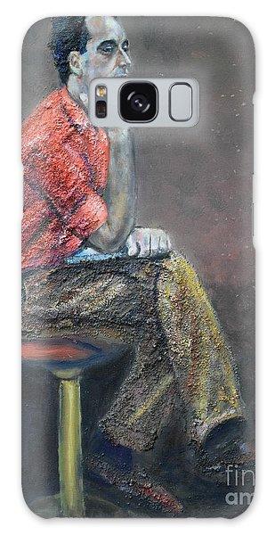 Portrait Of Ali Akrei - The Painter Galaxy Case