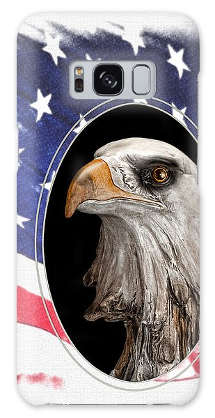 Symbolism Galaxy Case - Portrait Of America by Tom Mc Nemar