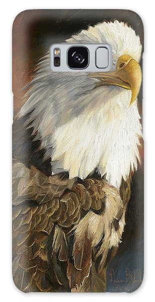 Portrait Of An Eagle Galaxy Case