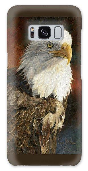 Eagle Galaxy S8 Case - Portrait Of An Eagle by Lucie Bilodeau