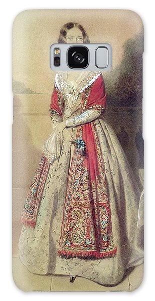 Banister Galaxy Case - Portrait Of An Unknown Lady  by William Buckler