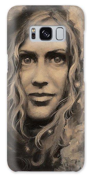 Portrait Of Annie Galaxy Case