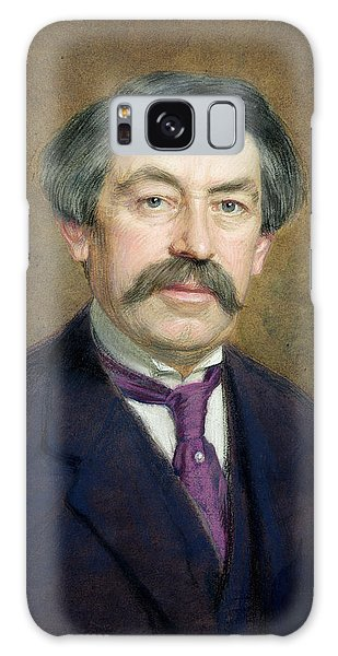 Moustache Galaxy Case - Portrait Of Aristide Briand 1862-1932 1916 Pastel On Paper by Marcel Andre Baschet