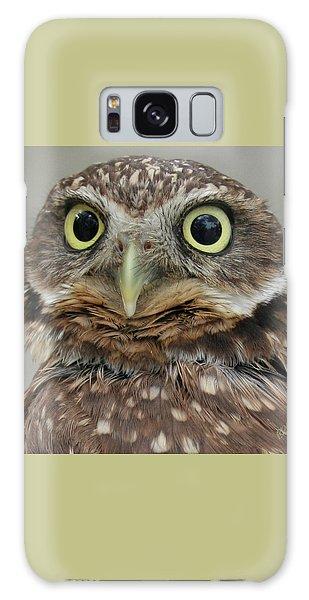 Portrait Of Burrowing Owl Galaxy Case