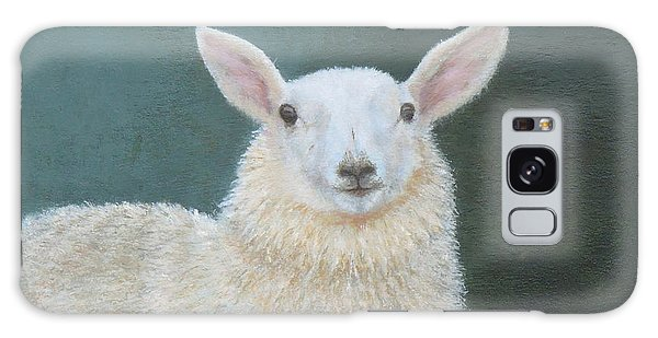 Portrait Of Ewe Galaxy Case