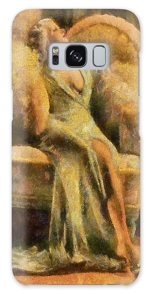 Portrait Of Jean Harlow Galaxy Case