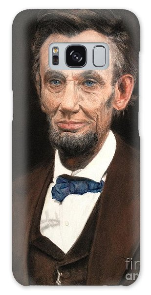 Portrait Of Lincoln Galaxy Case