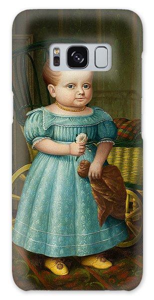 Portrait Of Sally Puffer Sanderson Galaxy Case