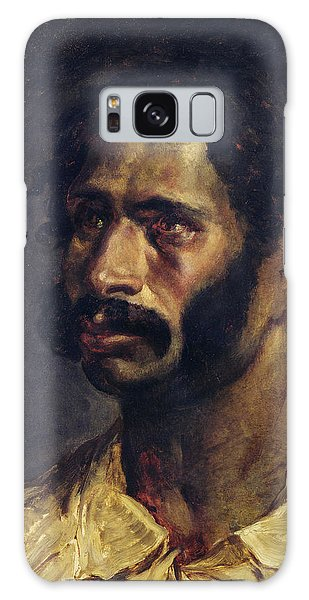 Moustache Galaxy Case - Portrait Of The Carpenter Of The Medusa, C.1812 Oil On Canvas by Theodore Gericault