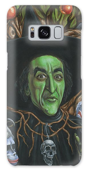Portrait Of Wickedness Galaxy Case by Mark Tavares