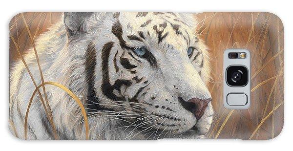 Portrait White Tiger 2 Galaxy Case