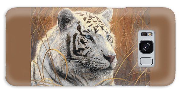 Portrait White Tiger 2 Galaxy Case