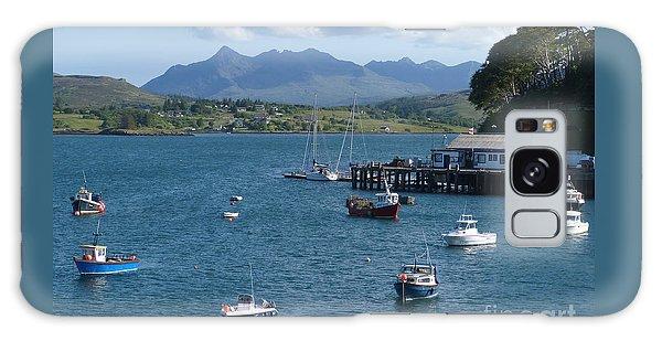 Portree Harbour - Isle Of Skye Galaxy Case