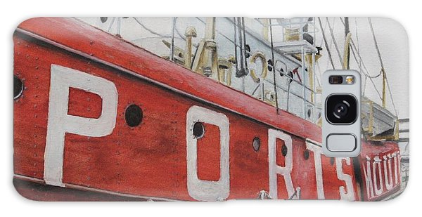 Portsmouth Lightship Galaxy Case by Stan Tenney