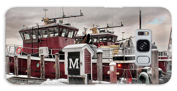 Portsmouth Tugboats Galaxy Case by Sharon Seaward