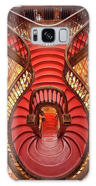 Banister Galaxy Case - Portugal, Porto Stairway In Lello Book by Jaynes Gallery