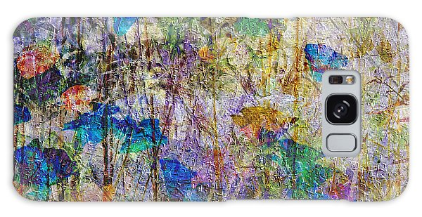 Posies In The Grass Galaxy Case