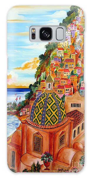 Positano In My Fantasy Galaxy Case by Roberto Gagliardi