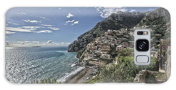 Positano Seascape Galaxy Case