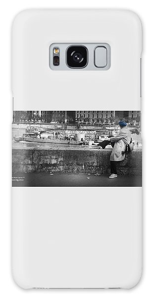 Galaxy Case featuring the photograph Positive Meditation On The River by Stwayne Keubrick