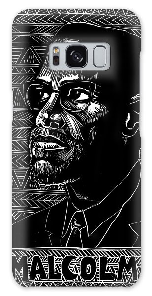 Malcom X Galaxy Case - Poster Malcolm X, 1976 by Granger