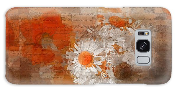 Vase Of Flowers Galaxy Case - Pot Of Daisies 02 - J33027100rgn1c by Variance Collections