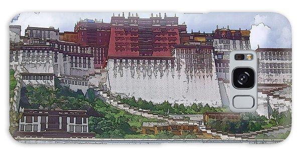 World Religion Galaxy Case - Potala Palace by Joan Carroll
