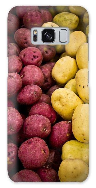 Potatoes Galaxy Case by Aaron Berg