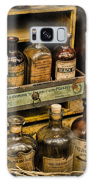 Potions And Cure Alls Galaxy Case by Heather Applegate
