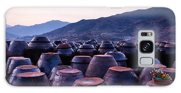 Pots Of Plum Galaxy Case