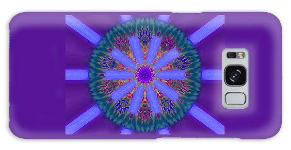 Power Of Ten Galaxy Case by Mike Breau