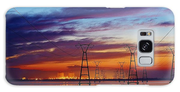 Power Plant On The Rise Galaxy Case