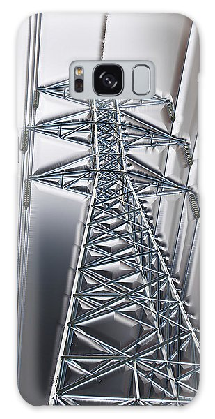 Power Station - Cool Optimized For Metallic Paper Galaxy Case