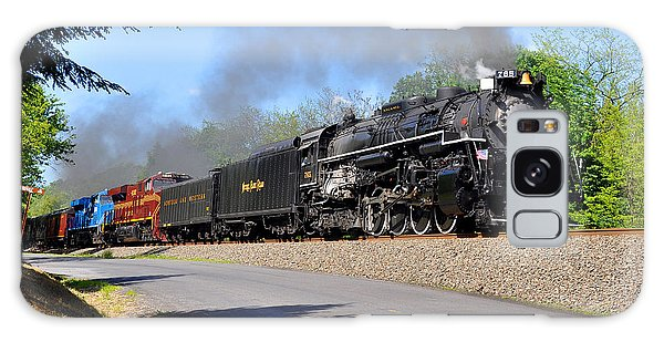 Galaxy Case featuring the photograph Powerful Nickel Plate Berkshire by Matthew Chapman