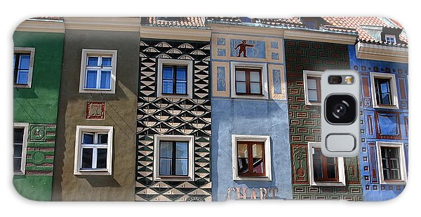 Poznan Town Houses Galaxy Case