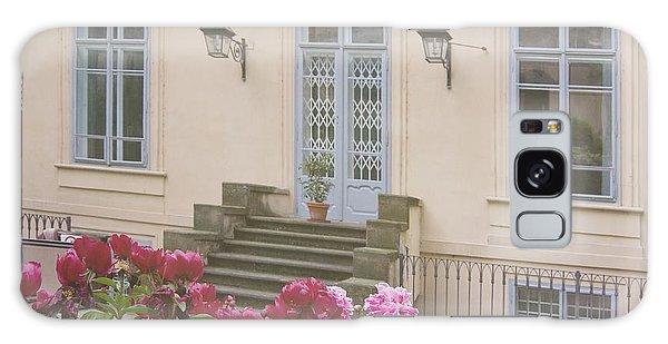 Prague Gardens Galaxy Case