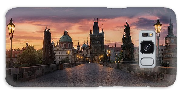 Dawn Galaxy Case - Prague-ii by Juan Manuel Fernandez