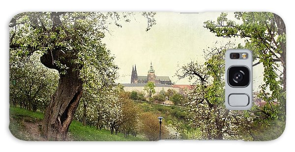 Prague In Bloom I Galaxy Case