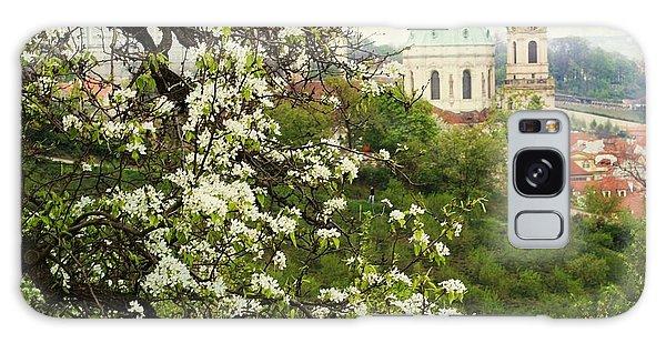 Prague In Bloom II Galaxy Case