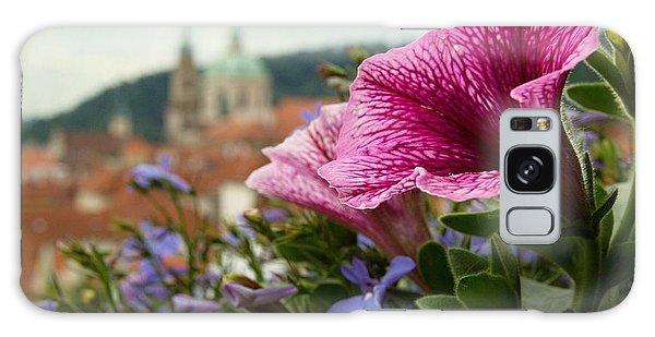Prague In Bloom Vi - Summer Edition Galaxy Case