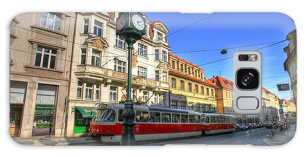 Prague Streetcar Galaxy Case