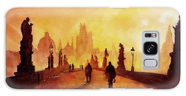 Prague Sunrise Galaxy Case by Ryan Fox
