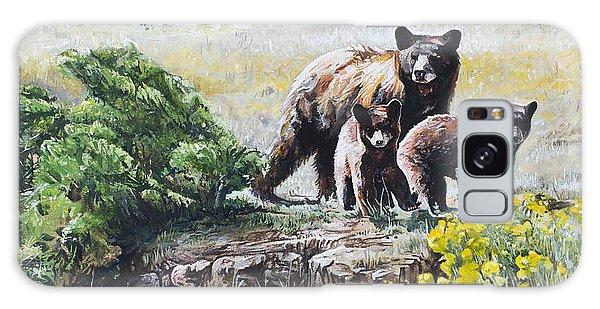 Prairie Black Bears Galaxy Case