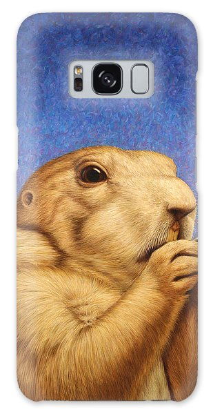 Wildlife Galaxy Case - Prairie Dog by James W Johnson