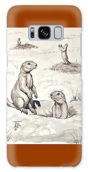 Prairie Dog Town Galaxy Case