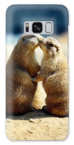Prairie Dogs Kissing Galaxy Case
