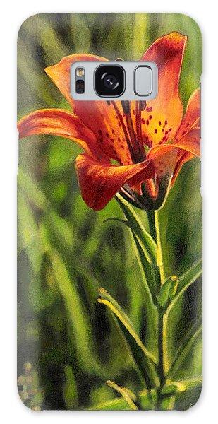 Prairie Lily Galaxy Case
