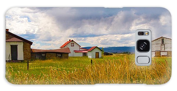 Wyoming Prairie Scene Galaxy Case